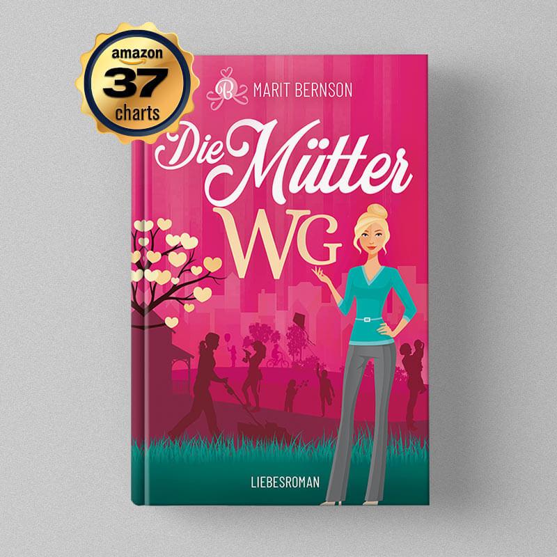 Buchcover Design - Marit Bernson - Die Mütter WG
