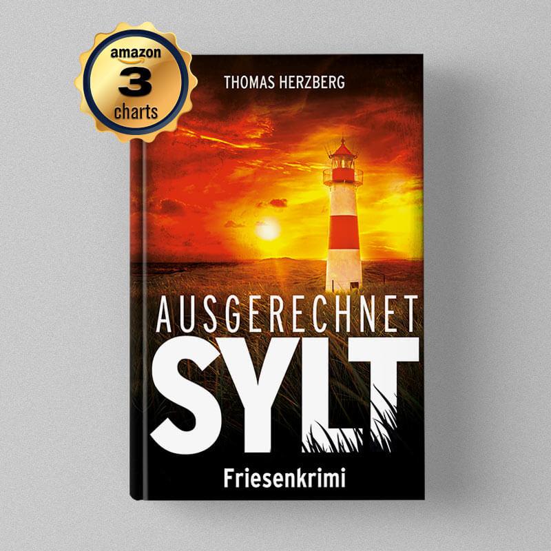 Buchcover Design - Thomas Herzberg - Ausgerechnet Sylt