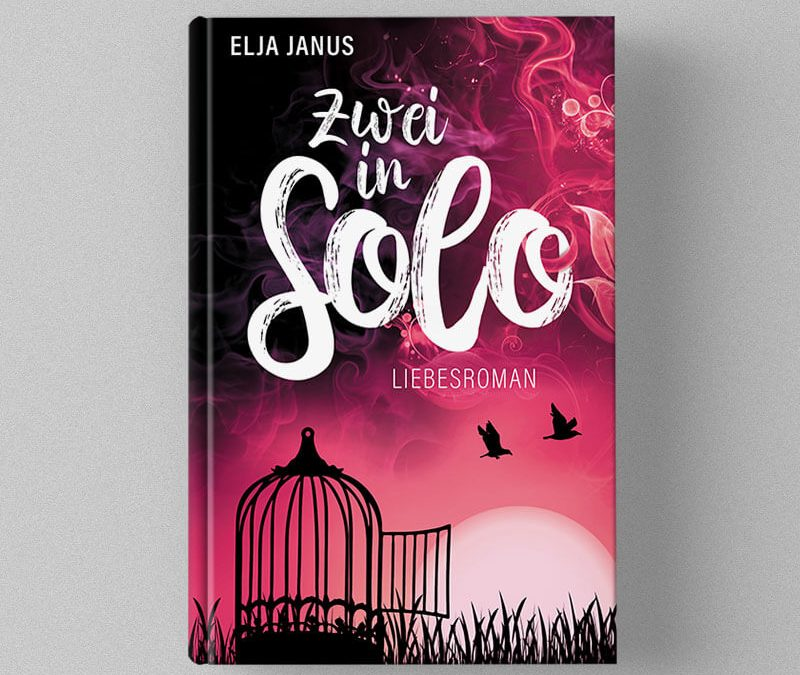 """Buchcover Design für Elja Janus """"Zwei in Solo"""" macht den ersten Platz"""