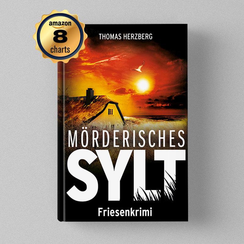 Buchcover Design Sylvia Bergman - In Fluten wie in schlechten Zeiten