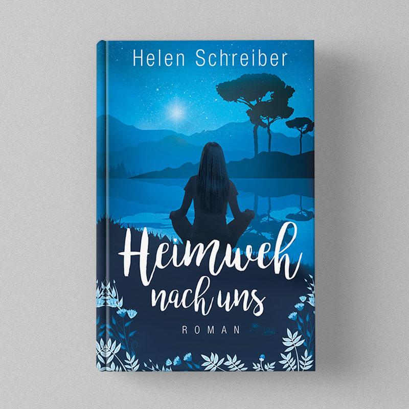Buchcover Design Helen Schreiber - Heimweh nach uns