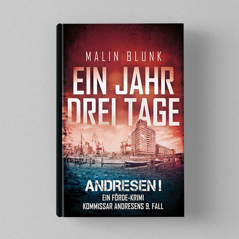 Buchcover Design Malin blunk - Ein Jahr drei Tage (Andresen 9)