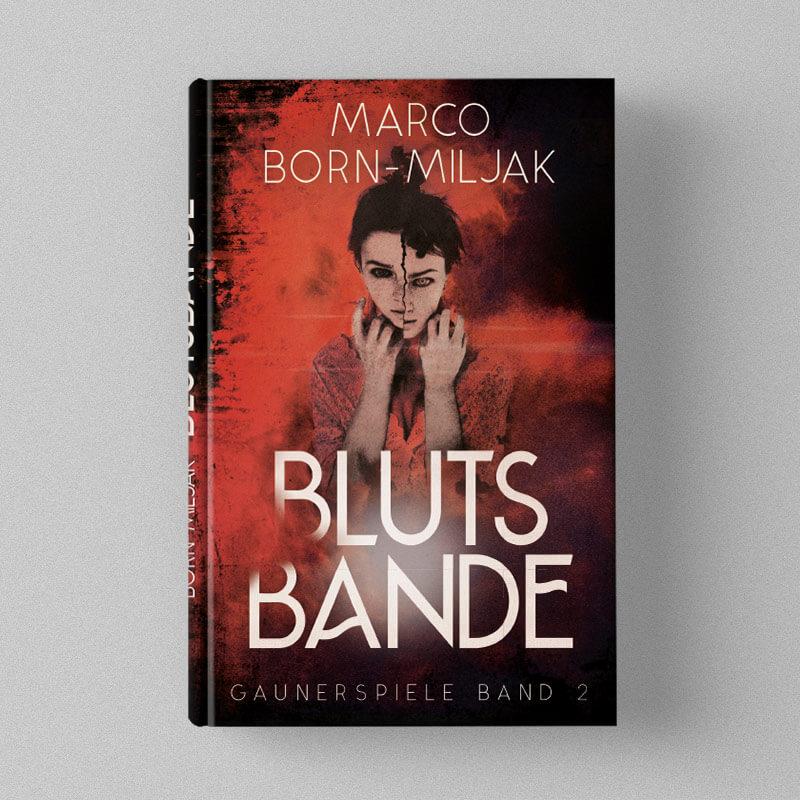 Buchcover Design Marco Born-Miljak - Blutsbande