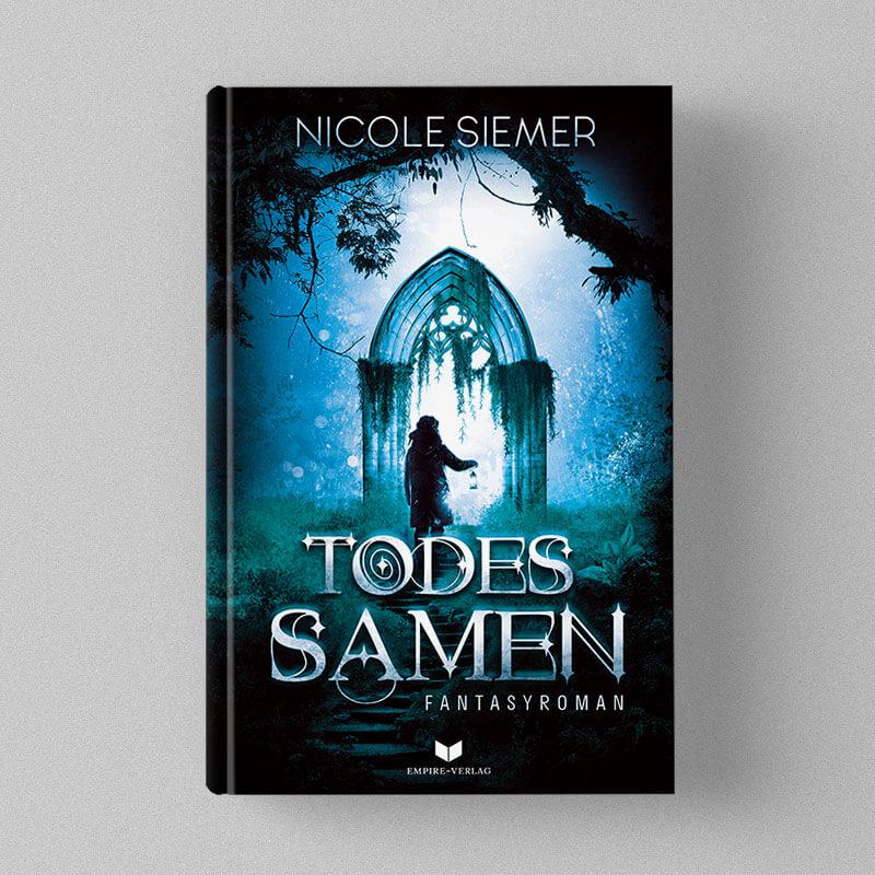 Buchcover Design Nicole Siemer - Todessamen
