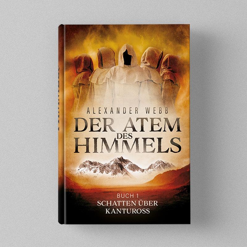 Buchcover Design - Alexander Webb - Der Atem des Himmels