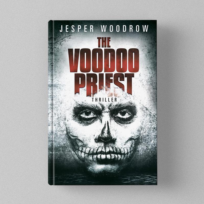 Buchcover Design Premade Jesper Woodrow - The Voodoo Priest