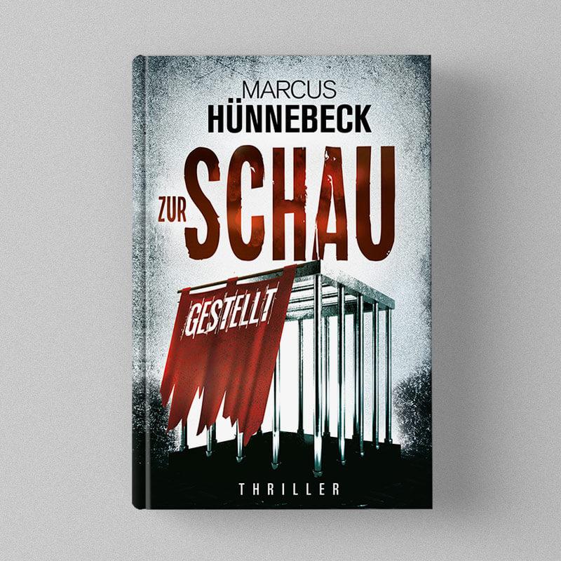 Buchcover Design Marcus Hünnebeck - Zur Schau gestellt